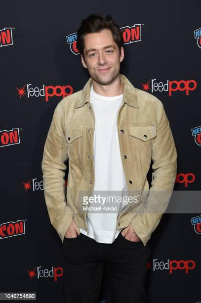 Actor Richard Rankin attends as Starz brings Outlander to NYCC 2018 at Javits Center on October 6 2018 in New York City