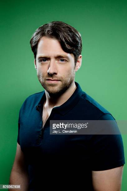 """Actor Richard Rankin, from the television series """"Outlander,"""" is photographed in the L.A. Times photo studio at Comic-Con 2017, in San Diego, CA on..."""