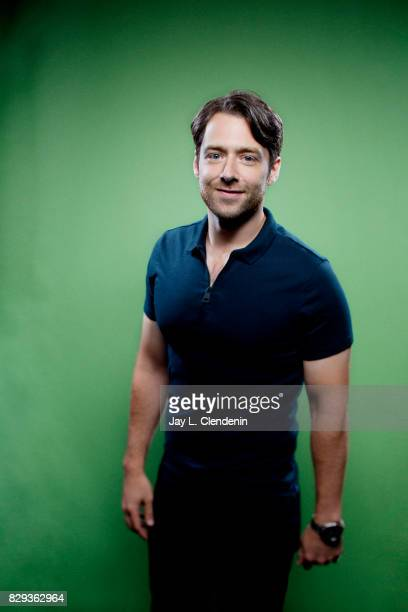Actor Richard Rankin from the television series Outlander is photographed in the LA Times photo studio at ComicCon 2017 in San Diego CA on July 22...