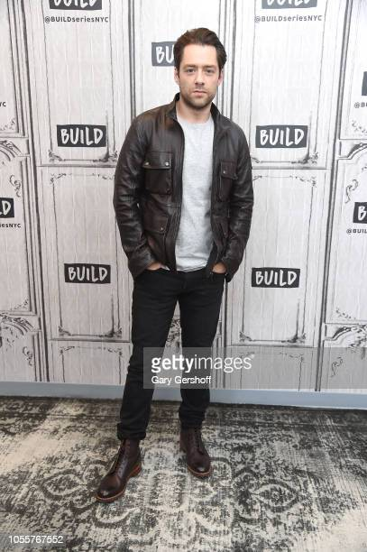 Actor Richard Rankin visits Build Series to discuss the Starz series 'Outlander' at Build Studio on October 31 2018 in New York City