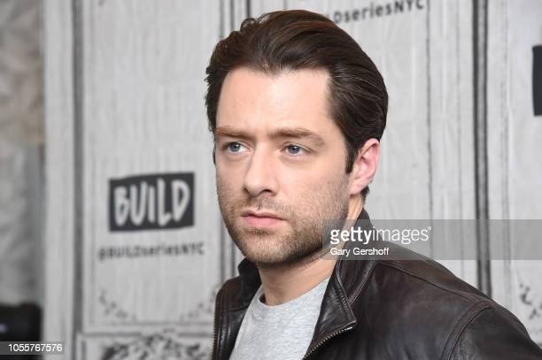 Actor Richard Rankin visits Build Series to discuss the Starz series 'Outlander' at Build Studio on October 31, 2018 in New York City.
