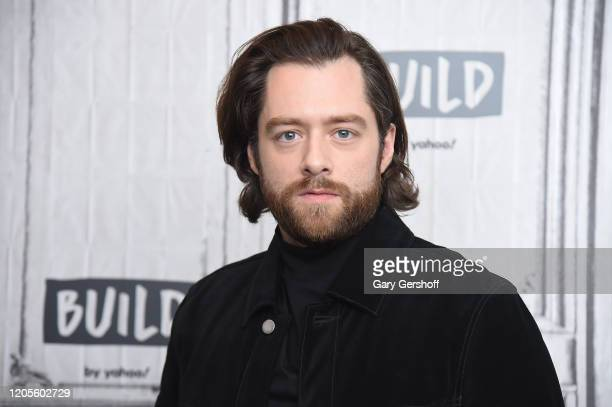 """Actor Richard Rankin visits the Build Series to discuss season 5 of the Starz series """"Outlander"""" at Build Studio on February 11, 2020 in New York..."""