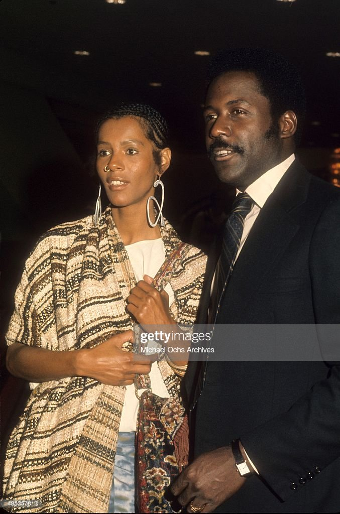 Actor Richard Roundtree attends an event with a guest in circa1971 in Los Angeles, California.