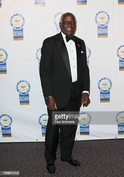 Actor Richard Roundtree attends the 22nd annual NAACP Theatre Awards at the Directors Guild Of America on November 5 2012 in Los Angeles California