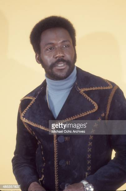 Actor Richard Roundtree poses for a portrait session in May 1972 in Los Angeles, California.