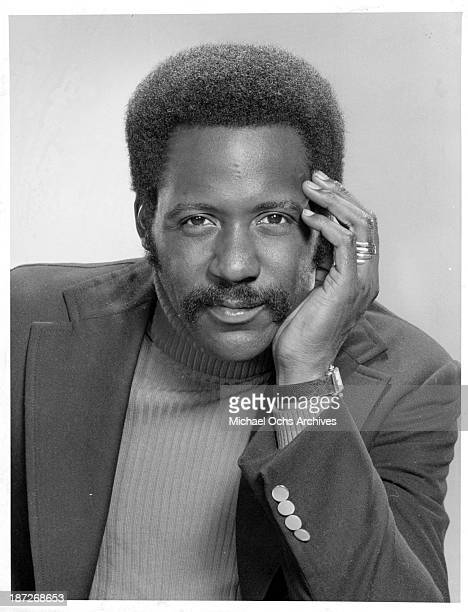 """Actor Richard Roundtree poses for the TV series"""" Shaft"""" as John Shaft. Circa 1973."""
