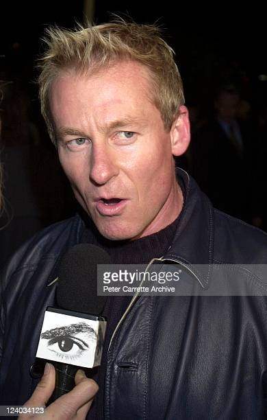 Actor Richard Roxburgh arrives for the opening night of the Cirque du Soleil production of 'Alegria' under the Grand Chapiteau at Moore Park on May...