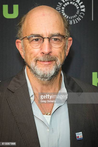 "Actor Richard Schiff arrives for the PaleyLive LA - ""Dirk Gently's Holistic Detective Agency"" Premiere Screening And Conversation at The Paley Center..."