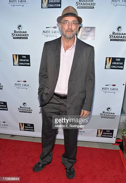 Actor Richard Schiff attends The Creative Coalition's 2013 Summer Soiree at Mari Vanna Los Angeles on June 19 2013 in West Hollywood California