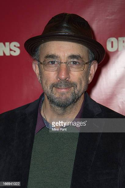 Actor Richard Schiff attends the Orphans Broadway opening night at the Gerald Schoenfeld Theatre on April 18 2013 in New York City