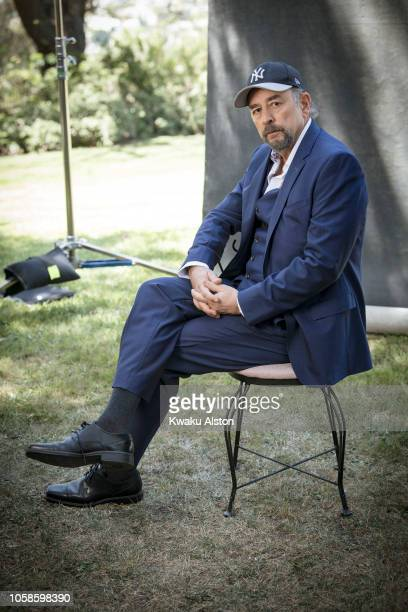Actor Richard Schiff is photographed for The Hollywood Reporter on April 17, 2018 in Los Angeles, California.