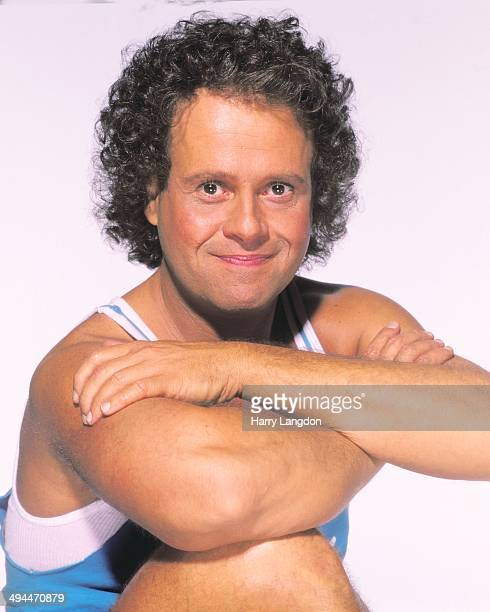 Actor Richard Simmons poses for a portrait in 1992 in Los Angeles California