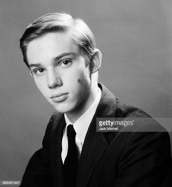 Actor Richard Thomas photographed at age 14 in 1965