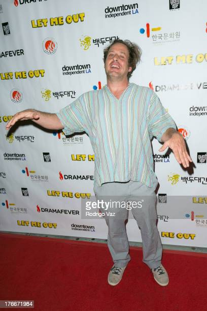 Actor Richmond Arquette attends Let Me Out Los Angeles Premiere at Downtown Independent Theatre on August 16 2013 in Los Angeles California