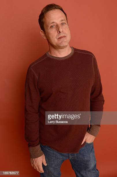 Actor Richmond Arquette poses for a portrait during the 2013 Sundance Film Festival at the Getty Images Portrait Studio at Village at the Lift on...