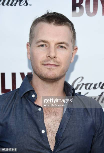 Actor Rick Cosnett arrives at the Los Angeles premiere of 'Billy Boy' at the Laemmle Music Hall on June 12 2018 in Beverly Hills California