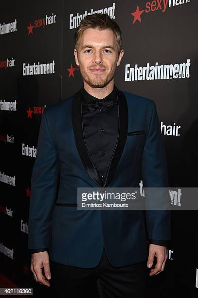 Actor Rick Cosnett attends Entertainment Weekly's celebration honoring the 2015 SAG awards nominees at Chateau Marmont on January 24 2015 in Los...