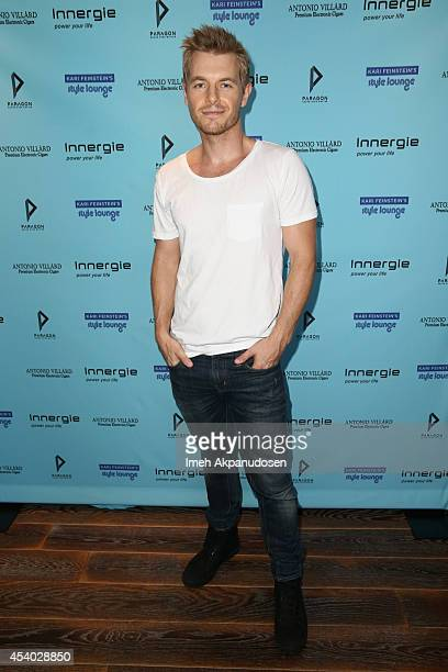 Actor Rick Cosnett attends Kari Feinstein's Style Lounge presented by Paragon at Andaz West Hollywood on August 23 2014 in Los Angeles California