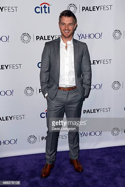 Actor Rick Cosnett attends the 'Arrow' 'The Flash' event at The Paley Center For Media's 32nd Annual PALEYFEST LA at the Dolby Theatre on March 14...