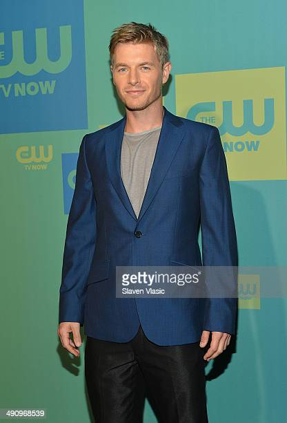 Actor Rick Cosnett attends the CW Network's New York 2014 Upfront Presentation at The London Hotel on May 15 2014 in New York City
