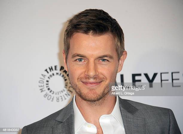 Actor Rick Cosnett participates in The Paley Center For Media's 32nd Annual PALEYFEST LA featuring The CW's Arrow and The Flash held at The Dolby...