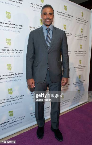 Actor Rick Fox attends United Friends Of The Children Brass Ring Awards Dinner 2014 at The Beverly Hilton Hotel on June 3 2014 in Beverly Hills...