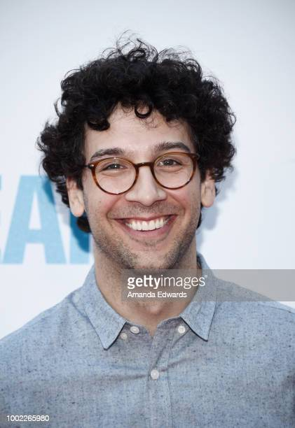 Actor Rick Glassman arrives at a special screening of Netflix's 'Father Of The Year' at ArcLight Hollywood on July 19 2018 in Hollywood California