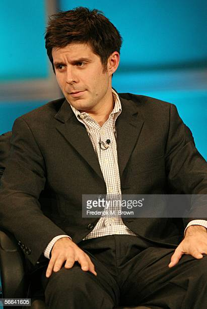 Actor Rick Gomez of What About Brian speaks during the ABC executive question and answer segment of the Television Critics Association Press Tour at...