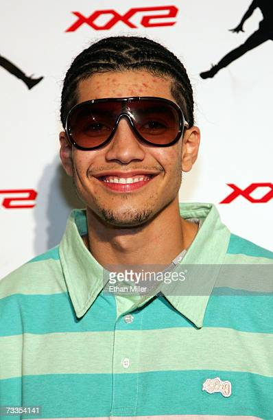 Actor Rick Gonzalez arrives to the celebration for Jordan Brand s launch of  the Air Jordan XX2 d0b2e91602