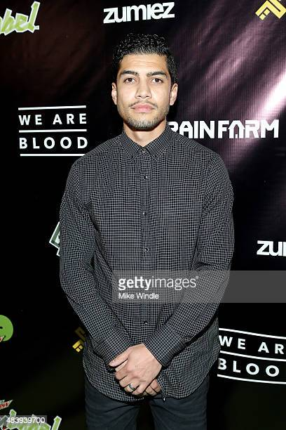 Actor Rick Gonzalez attends the 'WE ARE BLOOD' World Premiere hosted by Mountain Dew Green Label Films and Brain Farm at The Theatre at Ace Hotel...