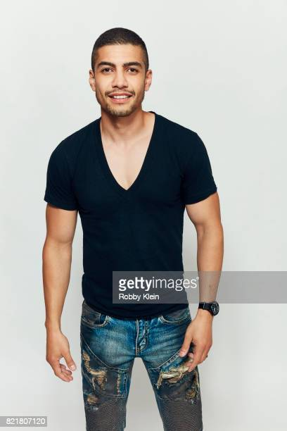 Actor Rick Gonzalez from CW's 'Arrow' poses for a portrait during ComicCon 2017 at Hard Rock Hotel San Diego on July 22 2017 in San Diego California