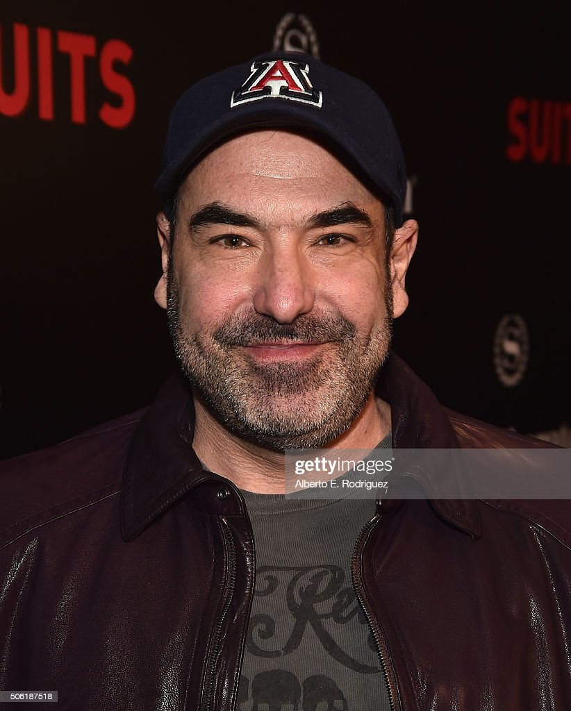 Actor Rick Hoffman attends the premiere of USA Network's 'Suits' Season 5 at the Sheraton Los Angeles Downtown Hotel on January 21, 2016 in Los Angeles, California.