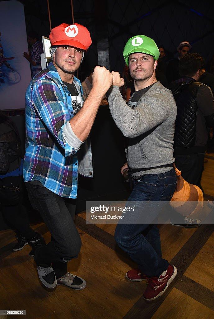 Nintendo Super Smash Bros Celebrity Fight Club : News Photo