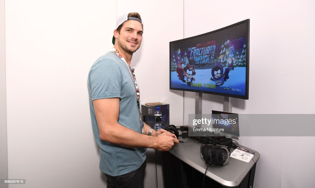 The Fractured But Whole during E3 2017 at Los Angeles Convention Center on June 15, 2017 in Los Angeles, California.