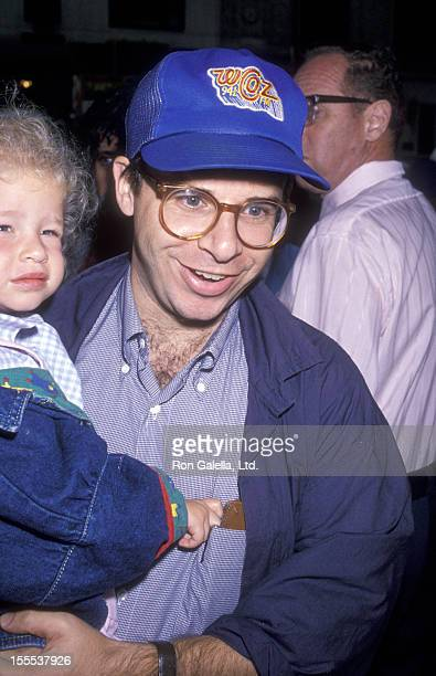 Actor Rick Moranis and daughter attend a Raffi Concert on September 16 1989 at Carnegie Hall in New York City