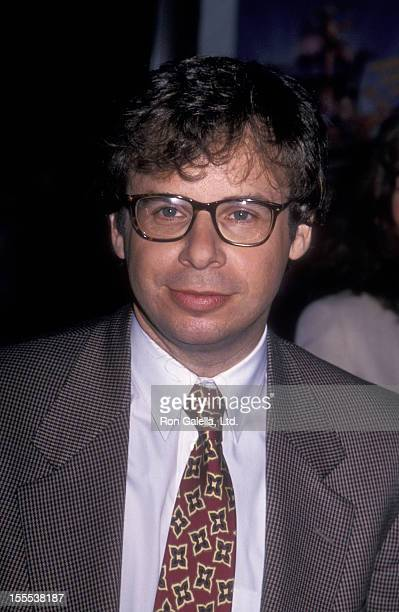 Actor Rick Moranis attends the premiere of The Flintstones on May 23 1994 at the Ziegfeld Theater in New York City