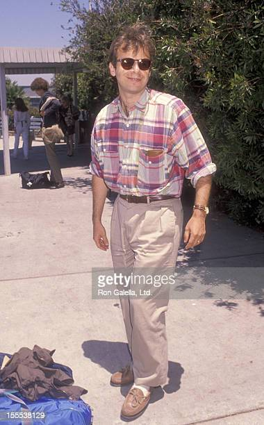 Actor Rick Moranis sighted on July 5 1990 at the the Los Angeles International Airport in Los Angeles California