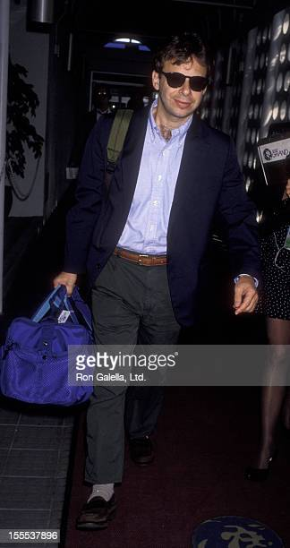 Actor Rick Moranis sighted on October 28 1992 at the Los Angeles International Airport in Los Angeles California