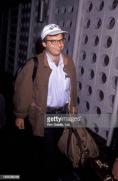 Actor Rick Moranis sighted on September 26 1991 at the Los Angeles International Airport in Los Angeles California
