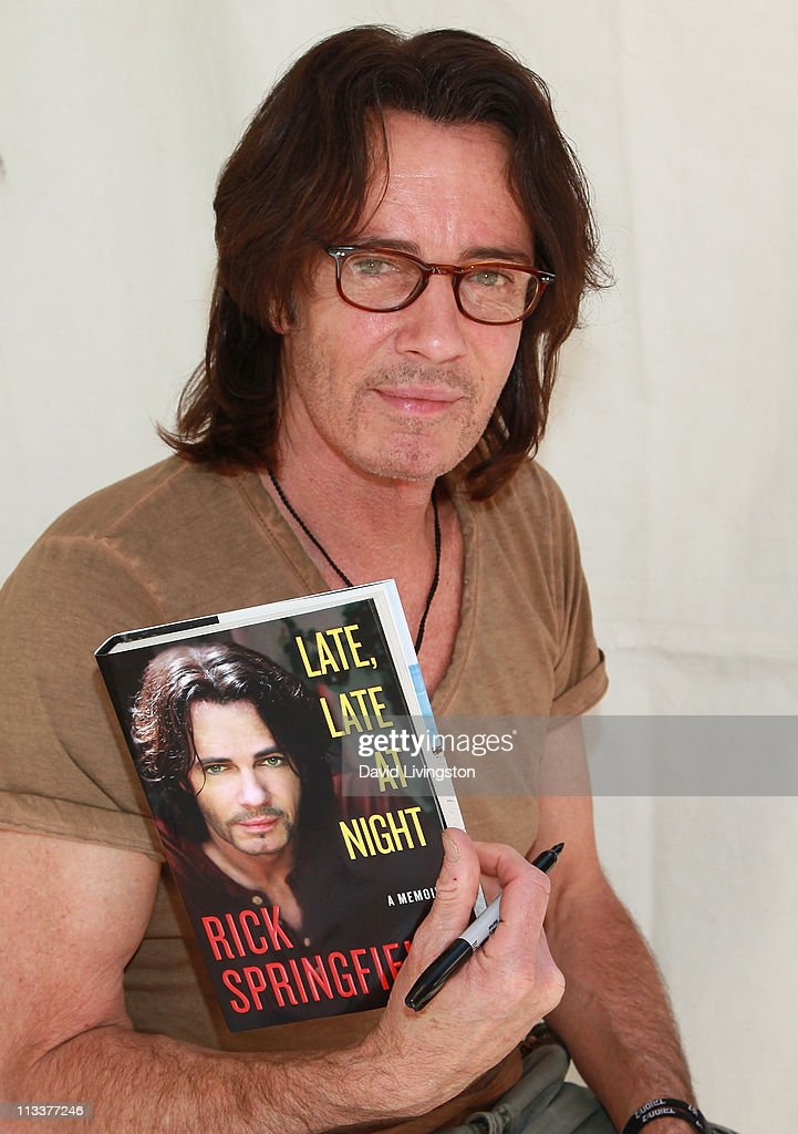 Actor Rick Springfield attends the 16th Annual Los Angeles Times Festival of Books - Day 2 at USC on May 1, 2011 in Los Angeles, California.