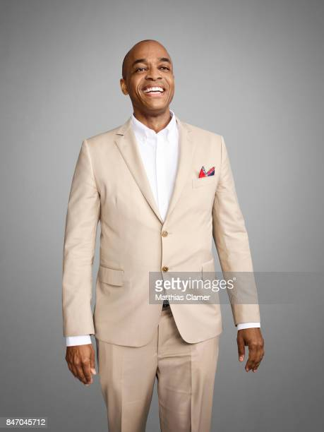 Actor Rick Worthy from 'The Magicians' is photographed for Entertainment Weekly Magazine on July 23, 2016 at Comic Con in the Hard Rock Hotel in San...