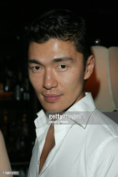 Actor Rick Yune at the Kubler LA Launch Party at Green Door on November 14 2007 in Hollywood California