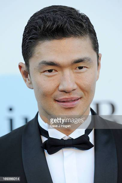 Actor Rick Yune attends amfAR's 20th Annual Cinema Against AIDS during The 66th Annual Cannes Film Festival at Hotel du CapEdenRoc on May 23 2013 in...