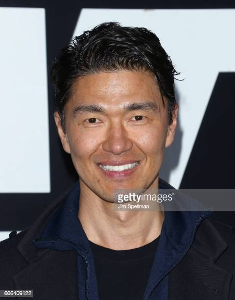 Actor Rick Yune attends The Fate Of The Furious New York premiere at Radio City Music Hall on April 8 2017 in New York City