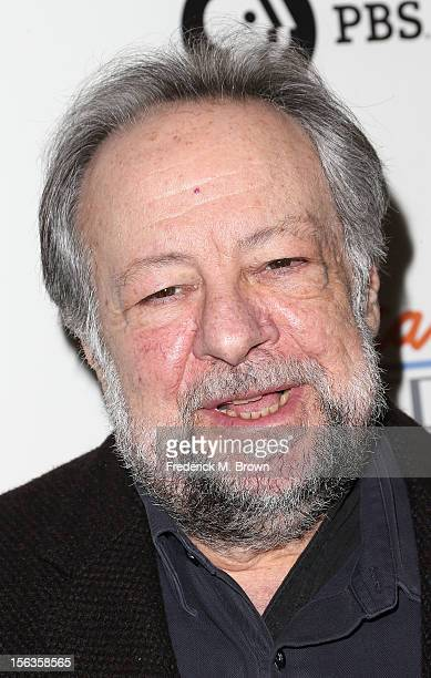 Actor Ricky Jay attends the Premiere Of 'American Masters Inventing David Geffen' at The Writers Guild of America on November 13 2012 in Beverly...