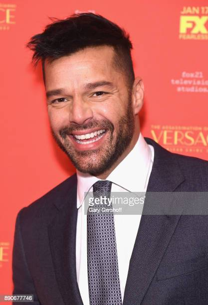 Actor Ricky Martin attends 'The Assassination Of Gianni Versace American Crime Story' New York screening at Metrograph on December 11 2017 in New...