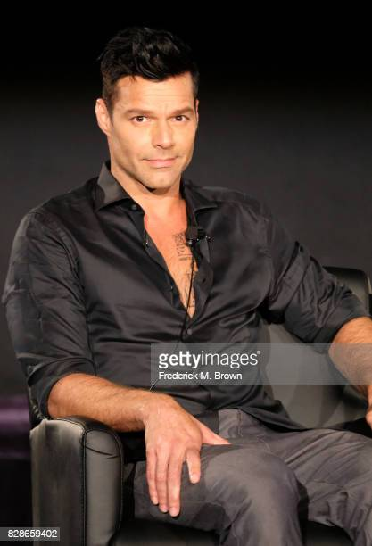 Actor Ricky Martin of 'The Assassination of Gianni Versace American Crime Story' speaks onstage during the FX portion of the 2017 Summer Television...