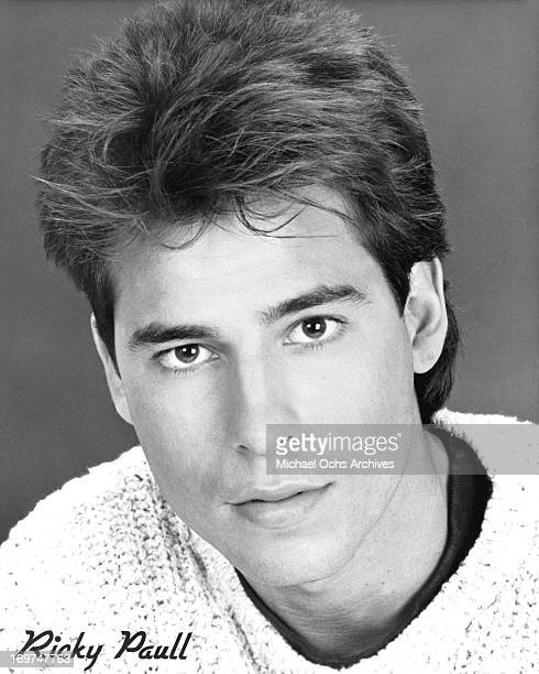 Actor Ricky Paull Goldin poses for a portrait in circa 1988