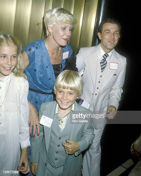 Actor Ricky Schroder sister Dawn Schroder mother Diane Schroder and father Richard Schroder attend the Eighth Annual Robert F Kennedy Pro/Celebrity...