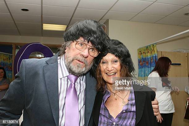 Actor Ricky Tomlinson and Julia Baird John Lennon's sister launch Beatles Day 2009 at Alder Hey Children's Hospital on May 12 2009 in Liverpool...